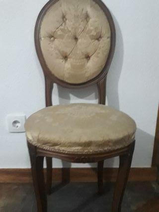 silla modelo Luis XVI