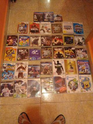 juegos de PS4 PS3 y WII