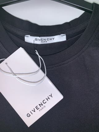 Black Givenchy Paris Tee