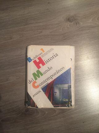 libro historia bachillerato