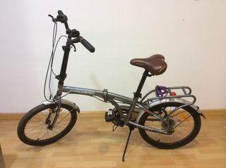 Bicicleta plegable megamo