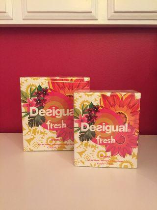 Perfume Desigual fresh, 50 ml sin abrir