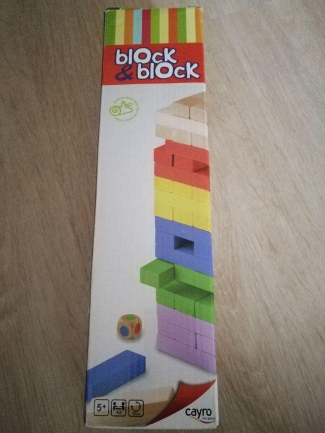 Block&block. Jenga.