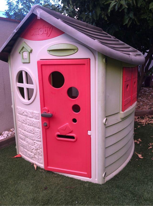 Casita Infantil Smoby para jardin o terraza