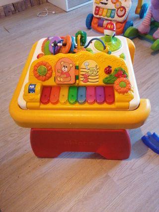 mesa piano juegos para niños