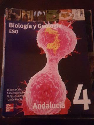 libro Biología y Geología 4° Eso