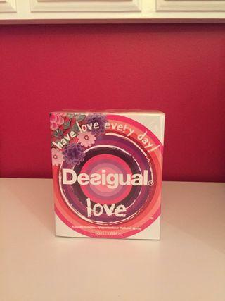 Perfume Desigual love, 50ml sin abrir