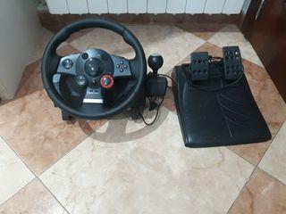 volante logitech gt driving force ps3