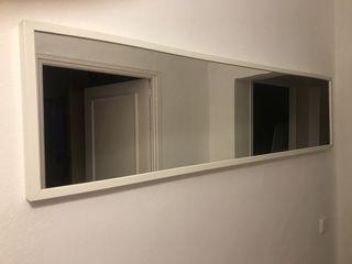 Espejo largo ikea en color blanco