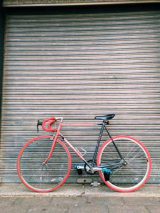 Bicicleta fixie fixed