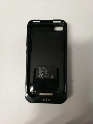 Funda con batería para IPhone 4