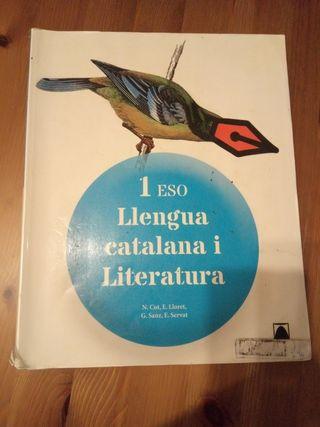 Libro Lengua catalana i literatura 1ESO