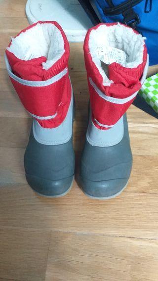 botas para la nieve talla 30 31