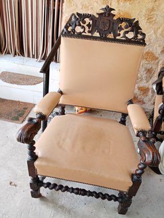 sillón antiguo. son 2