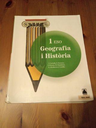Libro Geografía i Historia 1ESO
