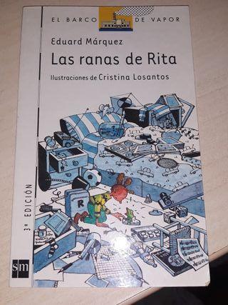 Vendo libro Las ranas de Rita