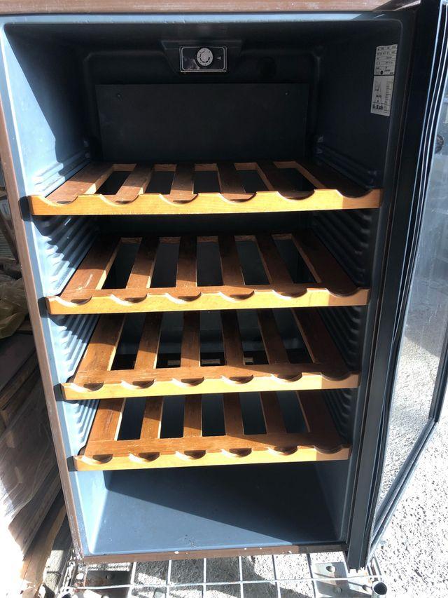 Cámara frigorífica de vino