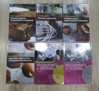 Libros GRADO MEDIO de COCINA Y GASTRONOMÍA