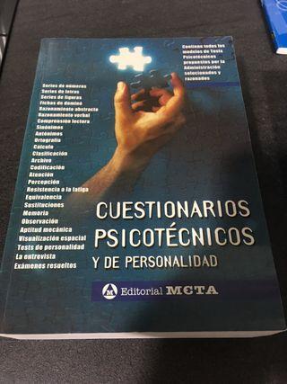 CUESTIONARIO DE PSICOTECNICO Y DE PERSONALIDAD
