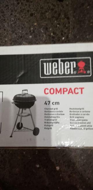Barbacoa Weber compact