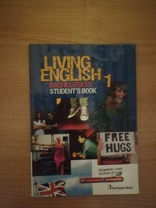 libro de inglés 1°Bach