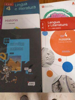Libros 4* secundaria