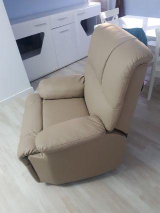 Sillón reclinable de masaje