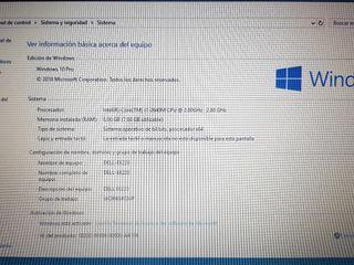 Dell i7 8gb ram 240ssd
