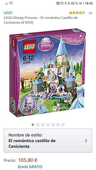 LEGO DISNEY PRINCESAS 41055. Castillo Cenicienta