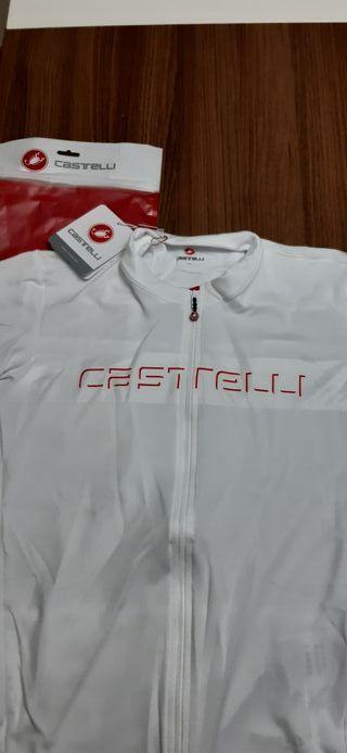 Maillot Castelli nuevo con etiqueta