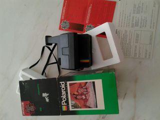 Cámara polaroid 600 supercolor
