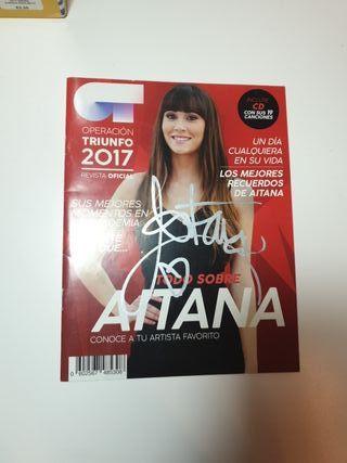 Revista firmada por aitana.