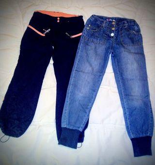 Pantalones T. 7