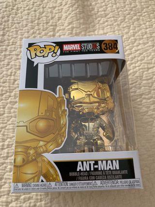 Funko Pop Ant-Man Chrome. Número 384