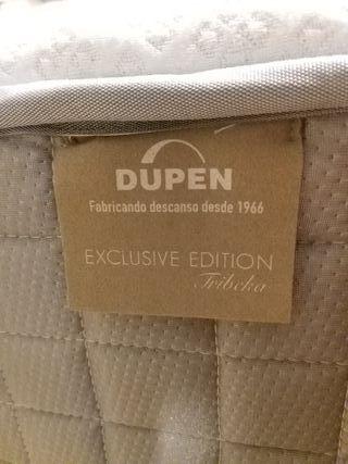 colchon de 135 mas base tapizada