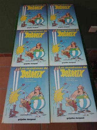 colección las aventuras de asterix 6 tomos