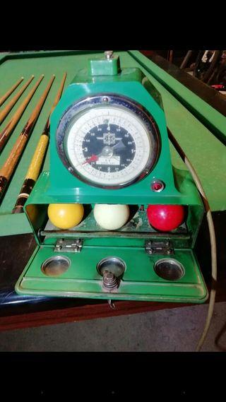 mesa de billar carambola