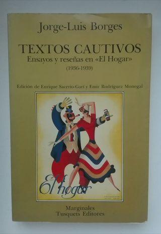 Libro Textos Cautivos ( Borges ).