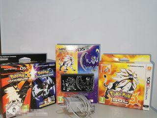 New Nintendo 3ds XL edición pokémon Sol y luna.