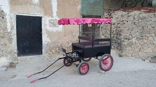 carro pony 4 ruedas