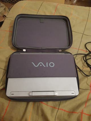 portatil vaio antiguo
