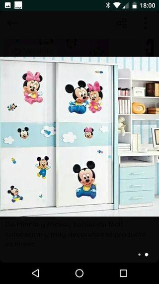 vinilo Minnie Mickey Disney