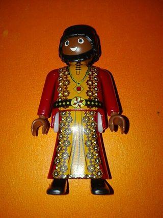 Playmobil árabe sarraceno negrito bartasar egipcio