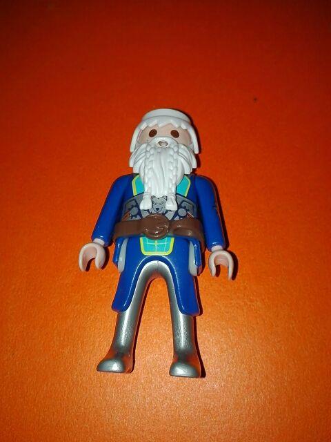 Playmobil medieval vikingo barbas largas bárbaro