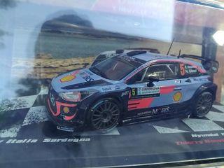 maqueta Hyundai i20 WRC escala 1:43 wrc