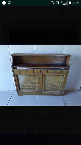 mueble para cubrir radiador