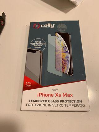 Protector cristal para iphone XS
