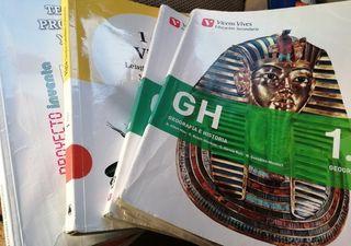 libros de texto 1ro ESO