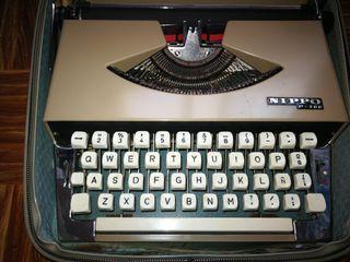 maquina de escribir nippo 200