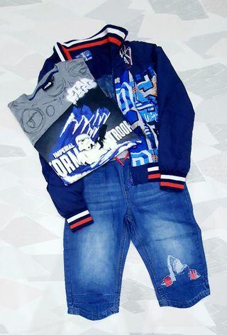 Pirata, chaqueta y camiseta Desigual niño 13-14
